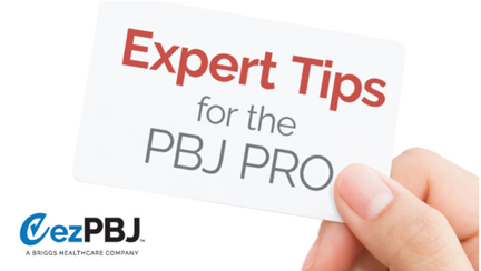 Tips for the PBJ Pro: PBJ Reporting is Back on Track